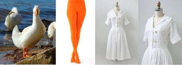 Duck Costume Inspiration