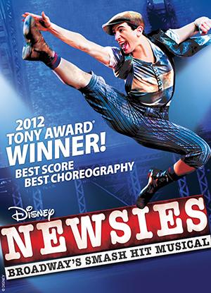 Newsies Tour  Poster